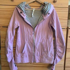 Lululemon Lavender Lined Zip-Up Hoodie Jacket 8